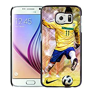Unique and Grace Case Neymar 69 Samsung Galaxy S6 Phone Case in Black