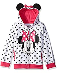 Girls' Minnie Hoodie with Bow and Ear