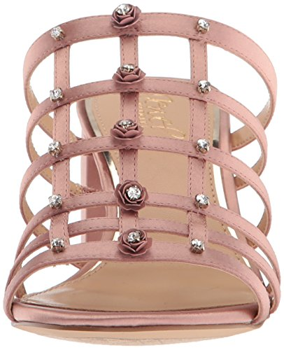 Badgley Mischka Jewel Mujeres Thorne Slide Sandal Blush