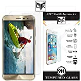TheGiftKart™ Ultra Clear Premium HD Tempered Glass Screen Protector with Rounded Edges (Precise Cut-Outs for Front Camera & Sensor) For Asus ZenFone 3 (ZE552KL) 5.5 Inches