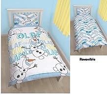 Disney Frozen Olaf Reversible Rotary Single Duvet Cover