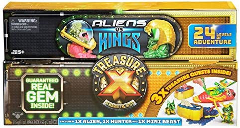Treasure X King/'s Gold Aliens Vs Kings Dissection  Digging Kits Action Figures
