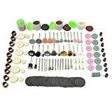 Grinding Tool Accessory, 282pcs Rotary Tool Accessories Kit, Diameter Shanks Universal Fitment Cutting, Grinding, Sanding, Sharpening, Carving and Polishing Tools for Woodworking