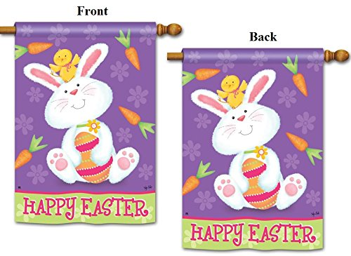 Bunny and Chick Flag 28