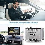 4-Channel Car Video Switcher Box - 4 Camera Input