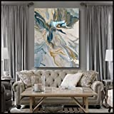Original Abstract Painting Modern Fine Art 48 x 36 HIGH gloss resin finish, Ready to Hang by ELOISExxx/ELOISE WORLD STUDIO
