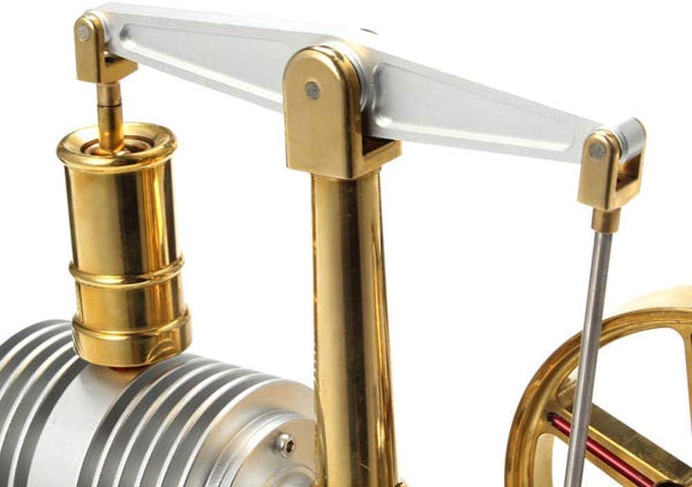 PQXOER Modelo de Motor Stirling Ampliada aleación Motor Stirling ...