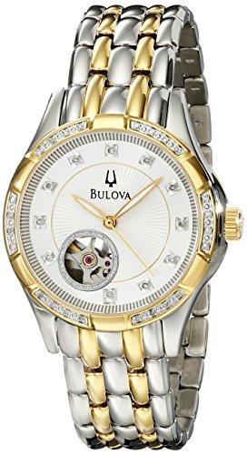 Bulova Women's 98R173 Self-Winding Mechanical Watch (Bulova Automatic Womens Watches)