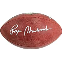 $199 » Roger Staubach Dallas Cowboys Signed Autograph Authentic Duke NFL Football Steiner Sports Certified