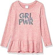 Amazon Brand - Spotted Zebra Girls' Toddler & Kids Long-Sleeve Cozy Tu