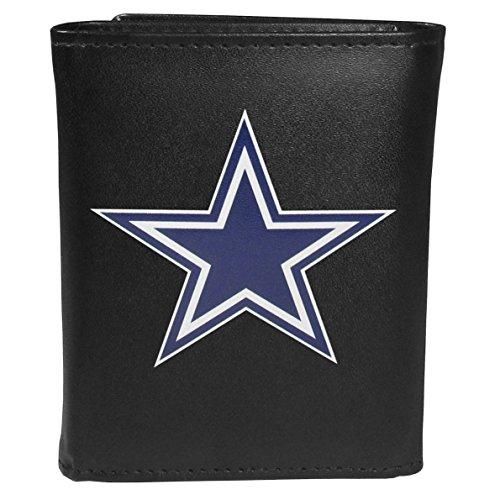 Siskiyou Sports NFL Dallas Cowboys Tri-fold Wallet Large Logo, -