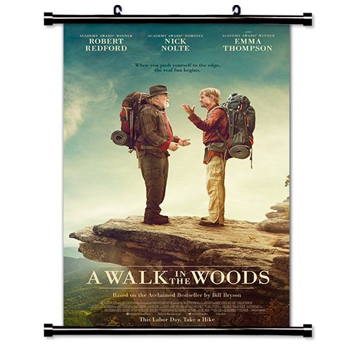 A Walk in the Woods Movie Fabric Wall Scroll Poster (16x24) Inches
