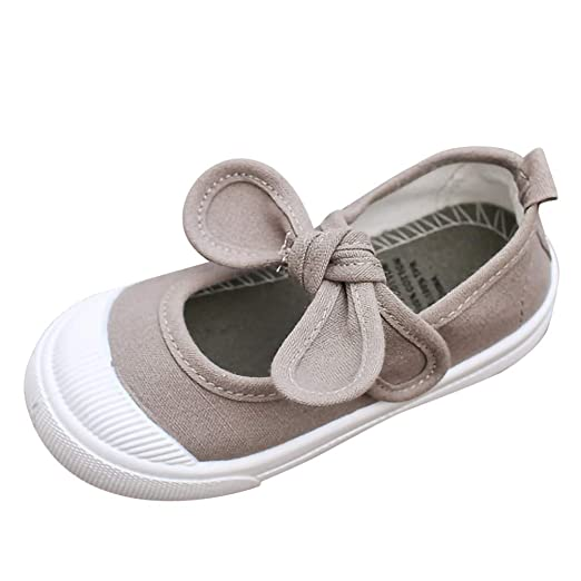 cd95fa716250f Moonker Girls Shoes 1-6 Years Old,Toddler Baby Girls Kids Crystal Princess  Mary Jane Flat Shoes Wedding Dress Shoes