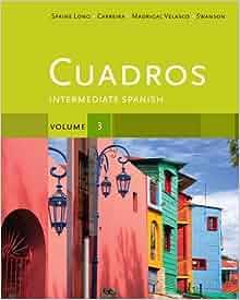 Amazon.com: Cuadros Student Text, Volume 3 of 4