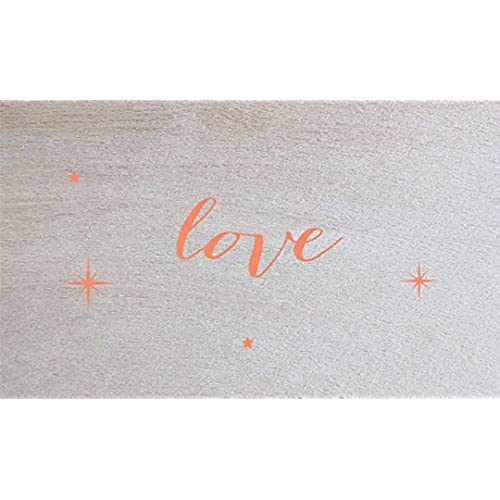 Lark Press Birch Love Card, 3.5 X 2, Set of 4 Sales