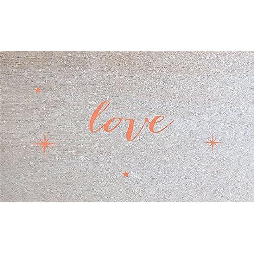 Lark Press Birch Love Card, 3.5 X 2, Set of 4 Sales