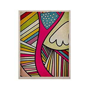 Kess InHouse Fake Colors Kess Naturals Canvas Art by Danny Ivan, 11 by 14-Inch