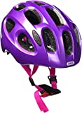 ABUS Bicycle Helmet Youn-I, Unisex, Youn-I, sparkling purple, 48-54 cm