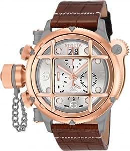 Invicta 17333 Men's Russian Diver Analog Display Swiss Quartz Brown Watch