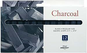 Pro Art Chalk Charcoal, 12 Stick Per package