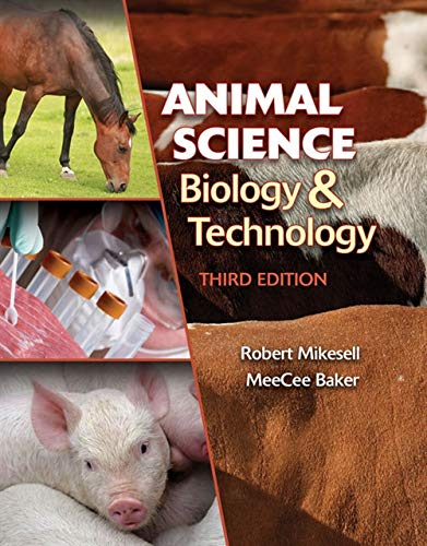 Animal Science Biology and Technology (Texas Science)