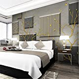 Ohcde Dheark Custom Photo Wallpaper 3D Mural Modern Abstract Fortune Tree 3D Tv Wall Background Wall Paper 3D Wallpaper,430cmX300cm(169.3 By 118.1 In )