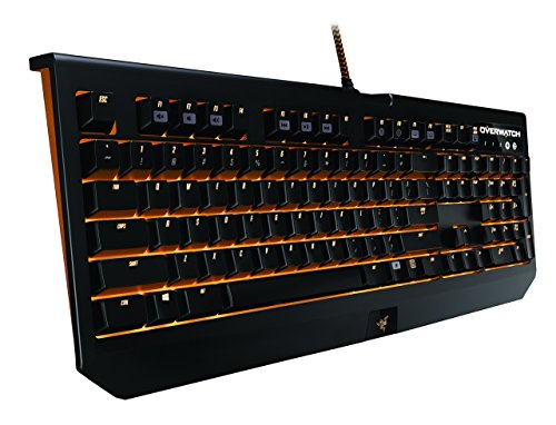 Razer Overwatch BlackWidow Chroma, Clicky RGB Mechanical Gaming Keyboard, Fully Programmable - Razer Green Switches by Razer