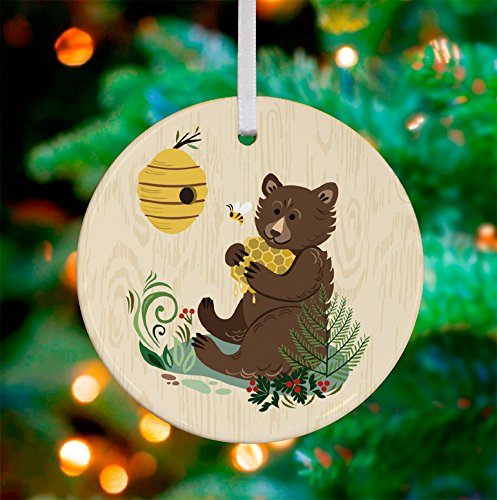 Oopsy Daisy Keepsake Ornament, fun bee ornaments for christmas Bear/Bee, 3