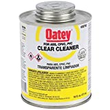 Oatey 30795 Clear Cleaner, 16-Ounce