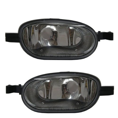 2002-2009 GMC ENVOY (Fits 2002-2006 XL & 2004-2005 XUV Models) Corner Park Lamp Turn Signal Marker Light (Front Bumper Mounted) Set Pair Left Driver AND Right Passenger Side (2002 02 2003 03 2004 04 2005 05 2006 06 2007 07 2008 08 2009 09)