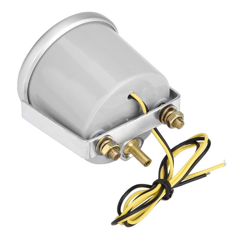 EBTOOLS Tester del calibro del LED di spinta dellautomobile di Digital LED dellautomobile PSI di 2 pollici 12V universale