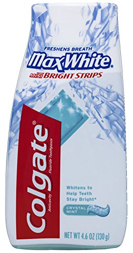 Colgate Max White Crystal Mint Liquid Toothpaste, 4.6-Ounce Packages (Pack of 6)