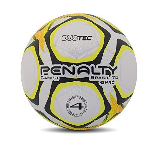 Bola Campo Brasil 70 N4 Pro IX Penalty 66 cm Branco
