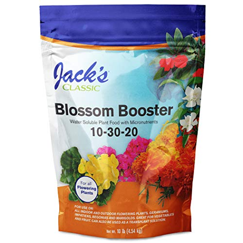 J R Peters Inc Jacks 51010 Classic No.10 Blossom Booster 10-30-20 Fertilizer - 10 ()