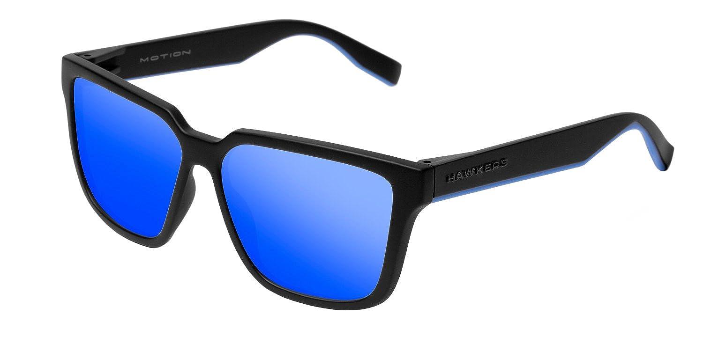 Hawkers Carbon Black Sky Motion, Montures de Lunettes Mixte Adulte, Noir (Negro/Azul), 60 MOT1802