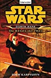Book Cover for Star Wars. Darth Bane. Die Regel der Zwei