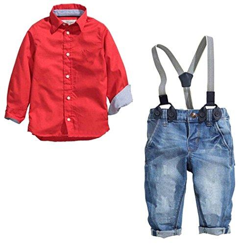 Overall Shirt Set - 9
