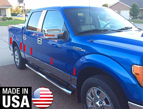 Made in USA! Works with 2009-2014 Ford F150 Crew Cab 5.5