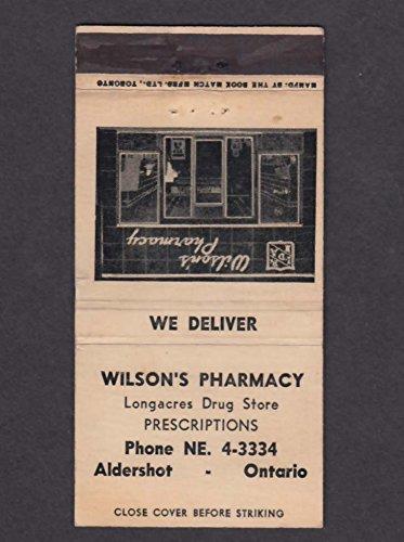 Wilson's Pharmacy Longacres Drug Store Aldershot Ontario - Stores Ontario
