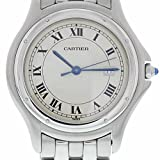 Cartier Panthere de Cartier Quartz Male Watch 987904 (Certified Pre-Owned)