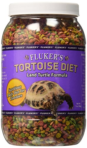 (Fluker Labs SFK70014 Tortoise Diet Small Pellet Food, 7-Ounce)