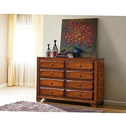 Amazon.com: Hebel Oakland 8 Drawer Dresser | Model DRSSR ...