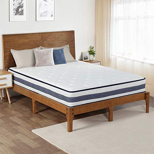 Olee Sleep 11 Inch Coastline Gel Memory Foam InnerSpring Hybrid Mattre