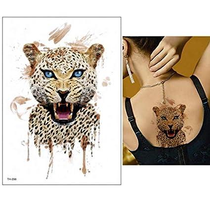 yyyDL Etiqueta engomada del tatuaje temporal Etiqueta engomada del ...