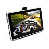 GPS Navigator,GP70HD 7.0inch GPS Navigation System with Spoken Turn-By-Turn Directions, Preloaded USA, Canada, Mexico, Puerto Rico Maps and Speed Limit Alert ¨C Black/8GB Flash Memory/HD Display