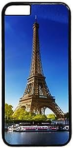Eiffel Tower Paris Autumn Retro Vintage Design iPhone 5C Hard Shell Case Cover by iCustomonline