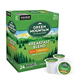 Green Mountain Coffee Roasters Breakfast Blend Decaf, Single-Serve Keurig K-Cup Pods, Light Roast Coffee, 96 Count