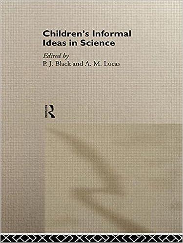 Childrens Informal Ideas in Science