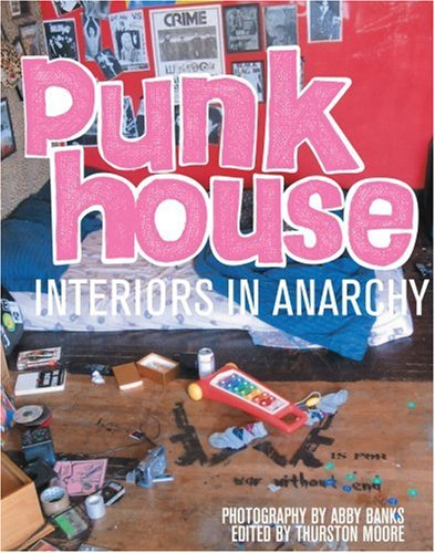 "The ""punk house"" may come in any number of forms. The most common type is often where a large group of like-minded punks cram into a house usually intended to accommodate two or three people, resulting in low rent and, thus, extended hours of leisure..."
