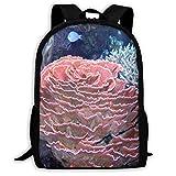 Backpack Two Cute Dwarf Hedgehogs Mens Laptop Backpacks Shoulder Bag School Daypack